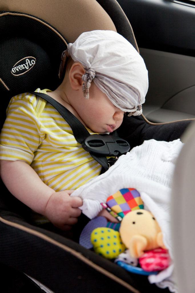 baby in restraint system